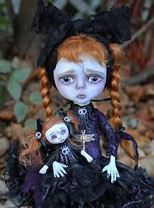 Anne Marie Gibbons Lil39 Poes OOAK Goth Dolls And Monsters
