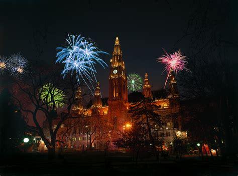 vienna austria  year fireworks wallpapers hd