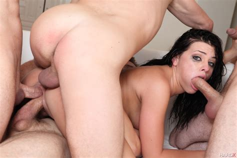 Adriana Chechik Does First Ever Triple Anal Scene 1 Of 2