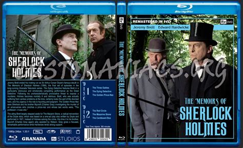Itv/granada Sherlock Holmes Blu-ray Set #2 Blu-ray Cover
