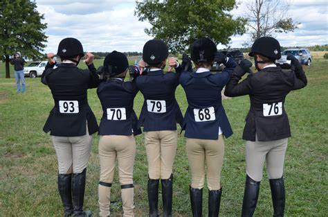 The School Equestrian Team | the spoon and the thimble