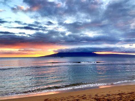 kaanapali hawaii beach december sunset seasons early lanai rosa island fall summer winter during maui say spring pro flickr