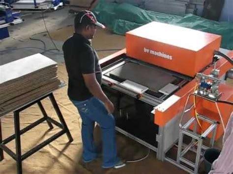 Coir Door Mat Printing Machine  Youtube