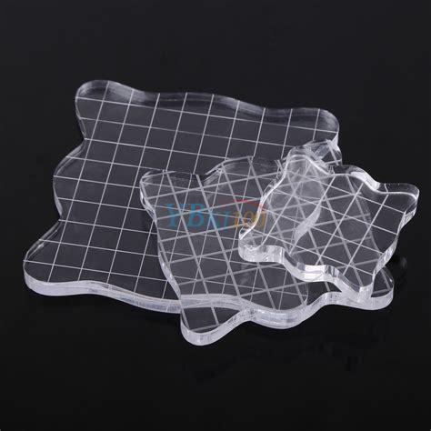 diy scrapbook craft paper transparent clear stamp acrylic