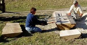 Sawmilling Big Logs With A Chain Sawmill