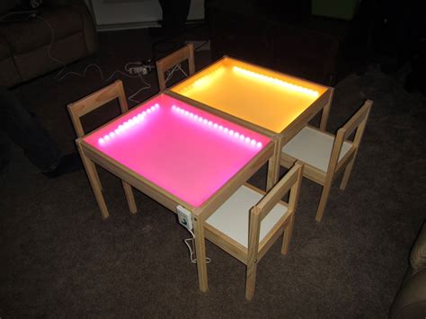 diy light table hobby creations diy light table ikea