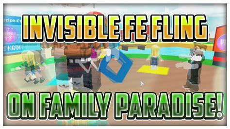 invisible fe fling roblox script roblox exploiting