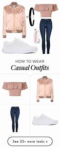 U0026quot;Casual Rose Goldu0026quot; by ishipromione on Polyvore featuring Topshop Vans Miss Selfridge Yves ...