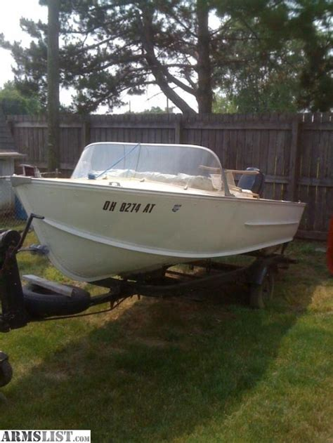 Aluminum Fishing Boat For Sale In Ohio by Armslist For Sale 16 Aluminum Boat