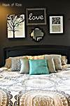 idea master bedroom wall decor Master Bedroom Wall Makeover