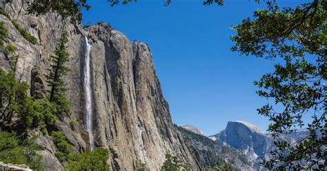 Hike Upper Yosemite Falls Valley View Parking Lot