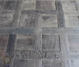 French parquet chantilly smoked and lyed 07 french oak for Parquet chantilly