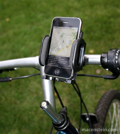 iphone holder for bike review usbfever s bike mount holder for iphone ipod gps