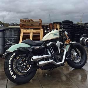 Harley 48 Custom Exhaust