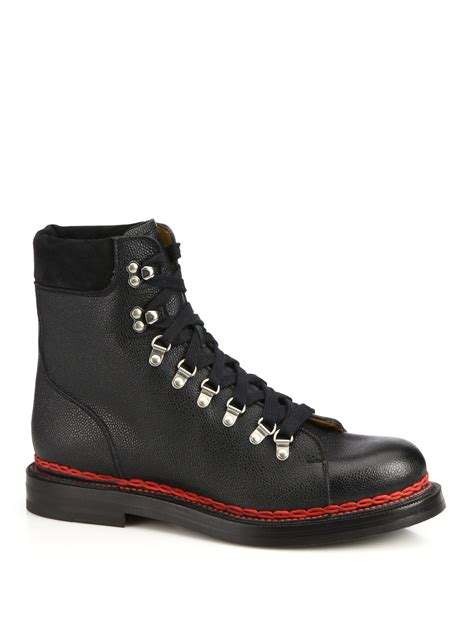 Moofeat Tracking Boots Black lyst gucci tracker lace up leather and suede boots in