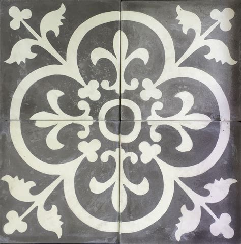 Cement Encaustic Marrakesh Design   989 ~ Eco Tile Factory