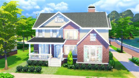 mod  sims family house  cc