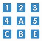 Numbers Icon Number Vector Icons Transparent Clipart