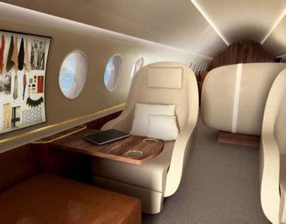 ralph lauren private jet interior  behance
