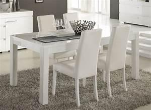 Table Salle A Manger Conforama : table salle a manger blanc laque conforama ~ Dailycaller-alerts.com Idées de Décoration