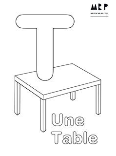 french alphabet coloring pages  printables