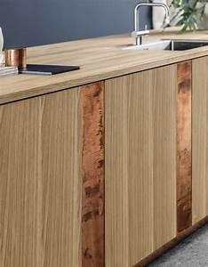 Deco Cuisine Bois : photos cuisine bois la preuve que les cuisines en bois sont contemporaines elle d coration ~ Melissatoandfro.com Idées de Décoration