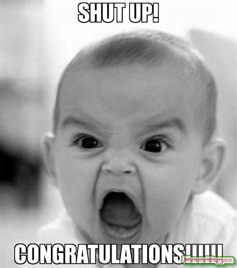 Congratulation Meme - congratulations it s a food baby meme food