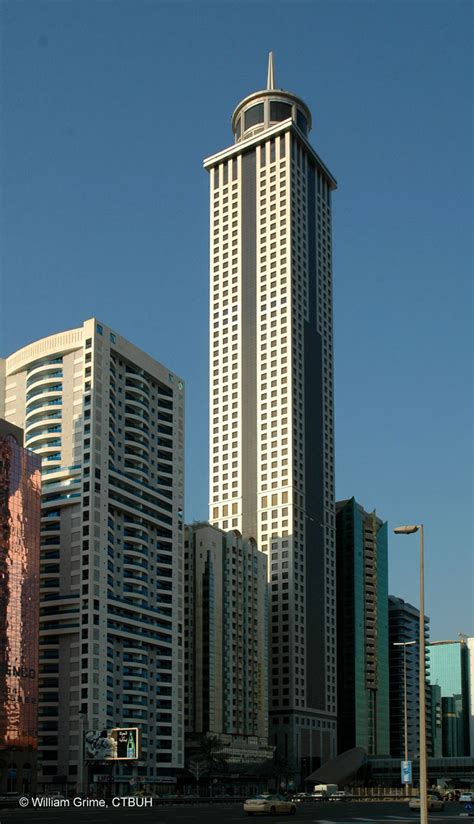 millennium hotel  skyscraper center
