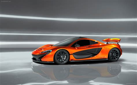 Mclaren Picture by Mclaren P1 Concept 2012 Widescreen Car Image 4 Of
