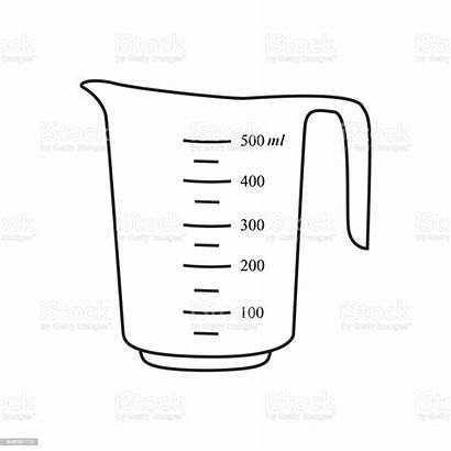 Measuring Cup Clipart Clip Cooking Cut Drink