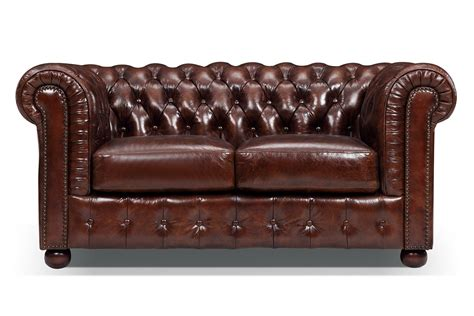 canap chesterfield canapé chesterfield original 2 places
