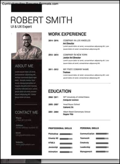 Photoshop Resume Template Free by Photoshop Resume Templates Free Sles Exles