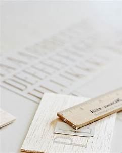 diy silver leaf balsa wood tag and some kitchen With balsa wood letters