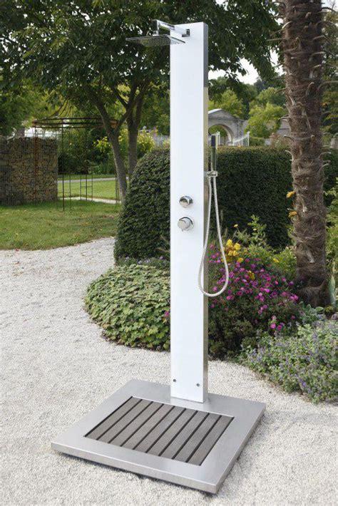 Gartendusche Mit Wassertank by Gartendusche Tobago Mit Wei 223 Er Glasfront Hitl Gmbh