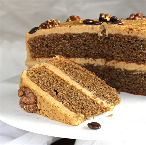 Place one of the cakes on a plate or board and spread with the coffee filling. Gluten Free Alchemist: Coffee & Walnut Cake - gluten free