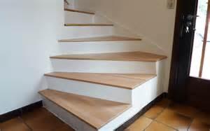 Escalier 4 Marches Interieur by R 233 Nover Un Escalier En B 233 Ton Le Blog Du Bois