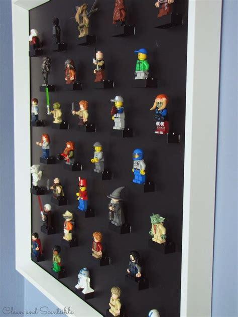 hometalk diy lego mini figure display