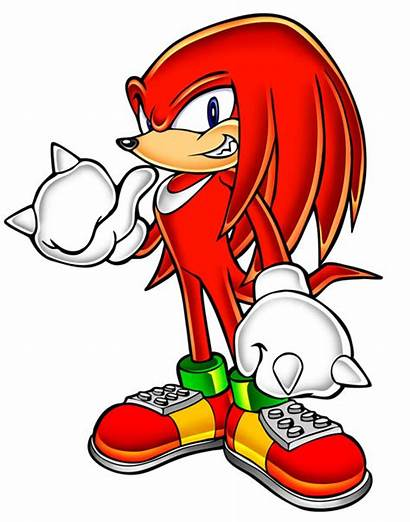 Knuckles Echidna Sonic Characters Adventure