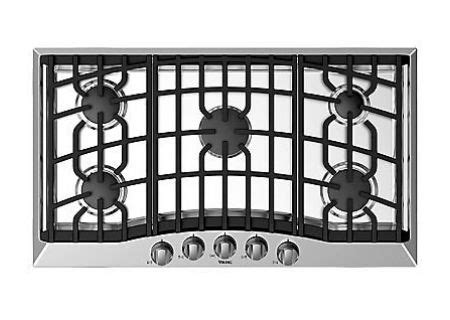 Viking Downdraft Cooktop by Viking 36 Quot Stainless Steel Gas Cooktop Rvgc3365bsslp