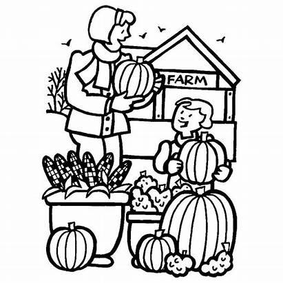 Pumpkin Coloring Patch Fazenda Colorir Desenho Legumes