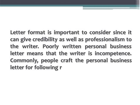 proper format personal business letter  youtube