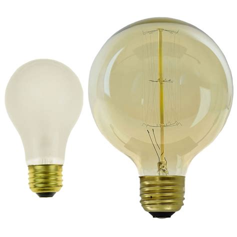 40w large antique edison globe light bulb