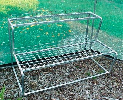 Benches And Trolleys For Greenhouses