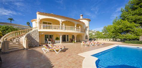 huis kopen spanje bilbao villa xenofilia vi rent luxury villa in moraira spain