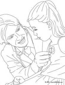 kid with doctor coloring pages hellokids com