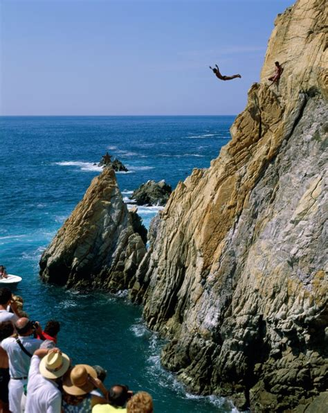 cliff jumping gone massive extreme sports news
