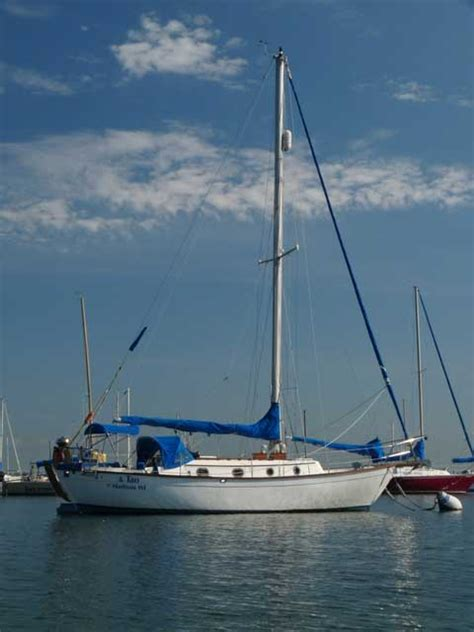 Sailboat Jacklines by Southern Cross 31 1978 Milwaukee Wisconsin Sailboat