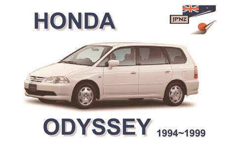 car repair manuals download 1999 honda odyssey parking system honda odyssey car owners service manual 1994 1999