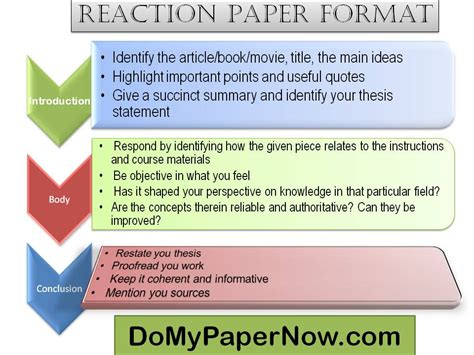How To Write A Reading Paper by How To Write A Reaction Paper A Response Paper Writing Tips