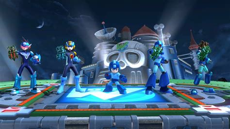 mega mega man pack super smash bros wii  skin